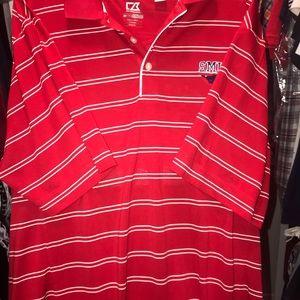 Cutter &Buck SMU Men's Polo Shirt Size XL